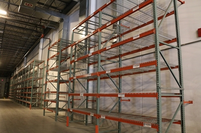 Used Teardrop Pallet Rack