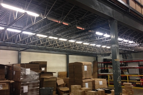used steel mezzanine american surplus