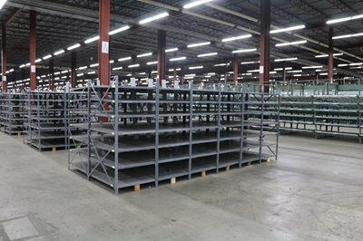 Used Warehouse Clip Shelving
