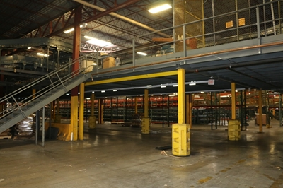 Used Steel Mezzanine - 15,000 Sq. Feet