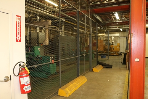 Used Wire Security Cage - 120