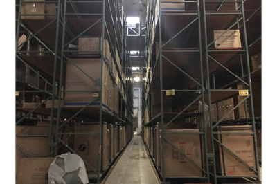 Wethersfield, CT Racking Liquidation