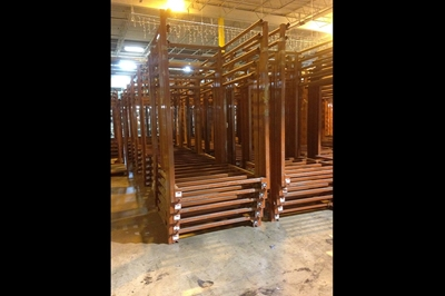 "Used Stack Racks 39"" x 48"""