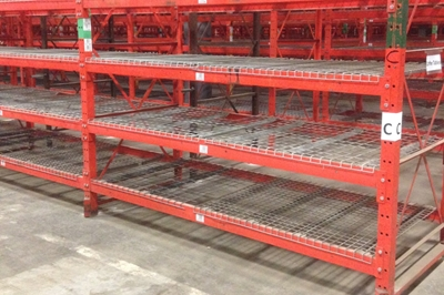 Used Structural Pallet Racking For Sale At American