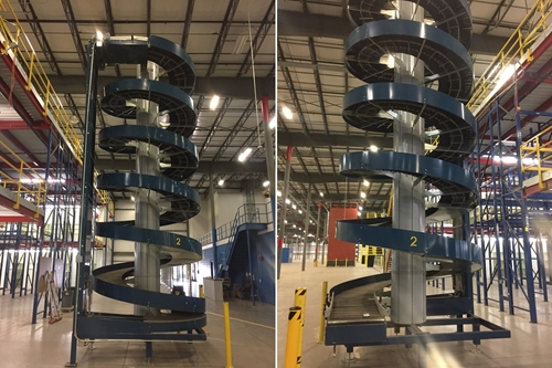 Used Spiral Conveyor Curves - Ryson