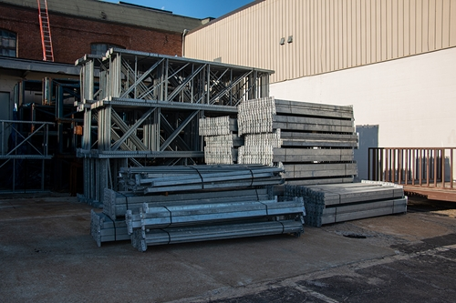 Galvanized Racking Material Also Available!