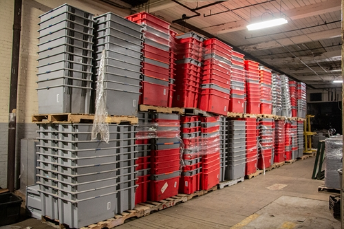Used Quantum Storage Totes Nestable / Stackable - 29.5