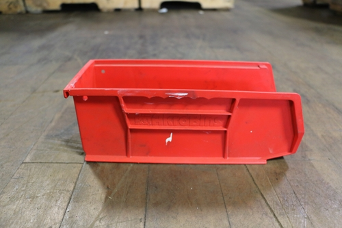 Used AkroBins Hanging Bins For Louvered Panel - 10.825