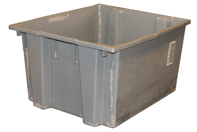"Used Akro-Mils Totes Nestable / Stackable -  23.5"" x 19.5"" x 12.75"""