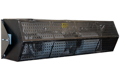 Used Berner STF1048E Electric Heat Air Curtain