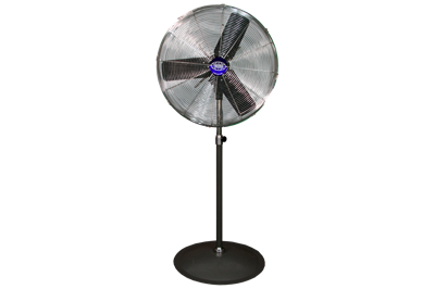 Used Global Industrial Pedestal Fans - 24""