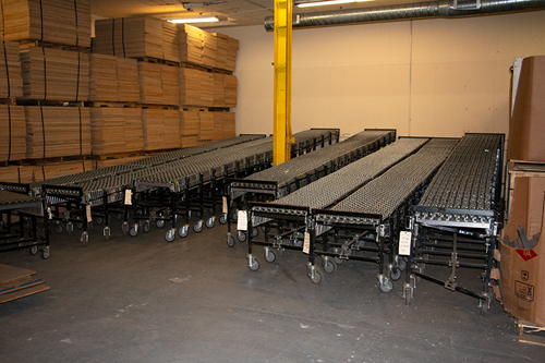 Used Bestflex 300 Decline Conveyor