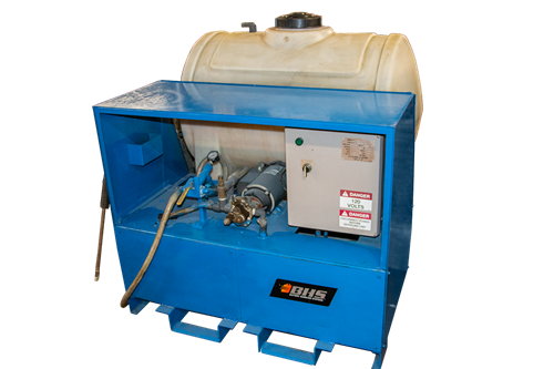 Used BHS Battery Recirculation / Neutralization System