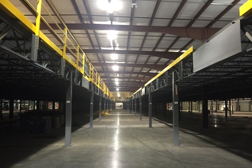 used warehouse mezzanine