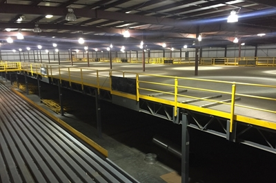 Used Steel Mezzanine - 100,000 Sq. Feet