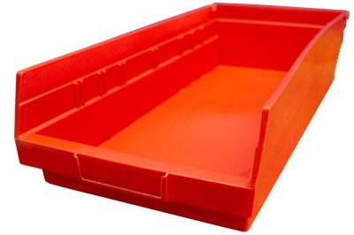 "Used Akro-Mils Shelf Bins - 17.875"" x 8.375"" x 4"""