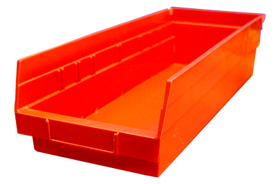 "Used Akro-Mils Shelf Bins - 17.875"" x 6.625"" x 4"""