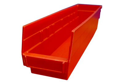 "Used Akro-Mils Shelf Bins - 17.875"" x 4.125"" x 4"""