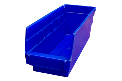 "Used Akro-Mils Shelf Bins - 11.625"" x 4.125"" x 4"""