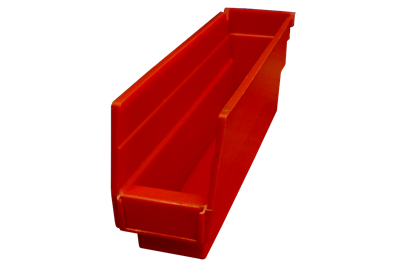 "Used Akro-Mils Shelf Bins - 11.625"" x 2.75"" x 4"""