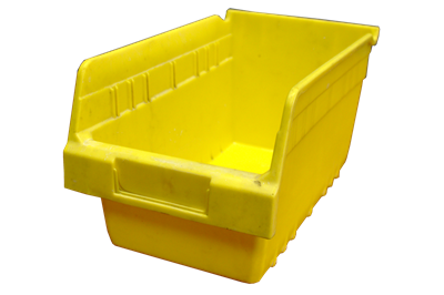 "Used Akro-Mils Shelf Bins - 11.625"" x 6.625"" x 6"""