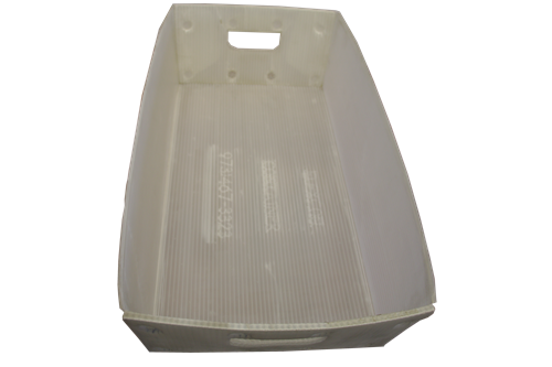 Used White Corrugated Bins