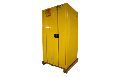 Used U-Line 55 Gallon Flammable Drum Storage Cabinets