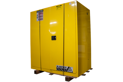 Used Justrite 110 Gallon Flammable Drum Storage Cabinets