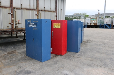 Used Corrosive Cabinets