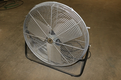 "Used TPI Industrial 24"" Barrel Fans"