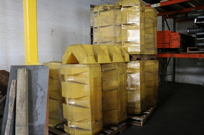 "Used Column Protectors - 42"" High"