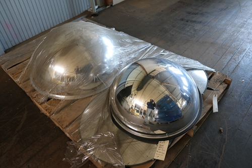 Used 360 Degree Dome Mirrors
