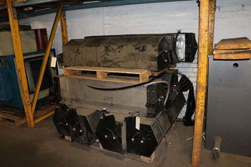 Used Berner Stf1048e Electric Heat Air Curtain