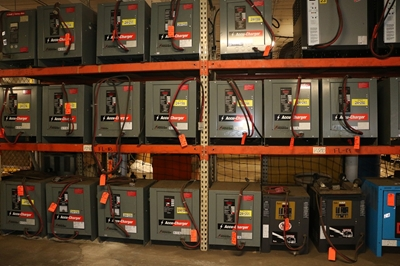 Used 36 Volt Forklift Battery Chargers