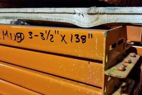Used Long Teardrop Beams - FOB: New Jersey