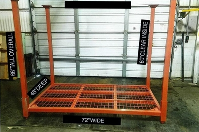 "New 48"" x 72"" Stack Racks"