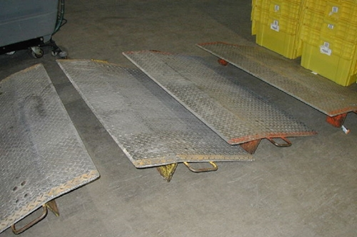 Used Dock Plates