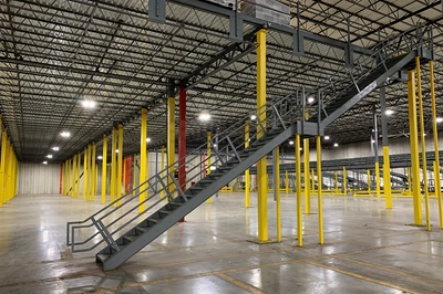 Used Steel Mezzanine - 60,000 Sq. Feet