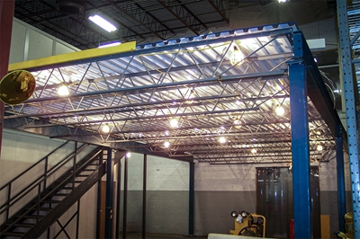 Refurbished Steel Mezzanine