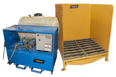 Used BHS Closed Loop Battery Wash Systems