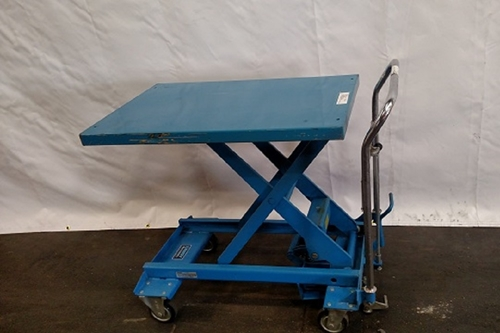 Photo southworth lift tables images photo southworth lift tables used southworth a 500 lift tables greentooth Gallery