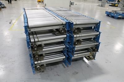 "Used 24"" Wide Lineshaft Conveyor"