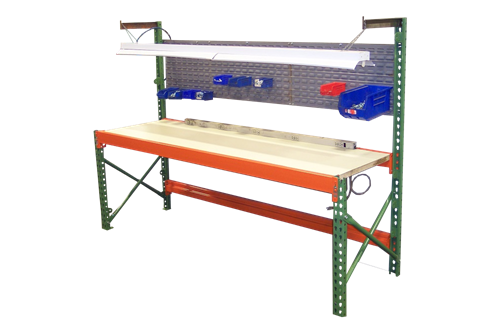 american surplus pallet rack workbenches