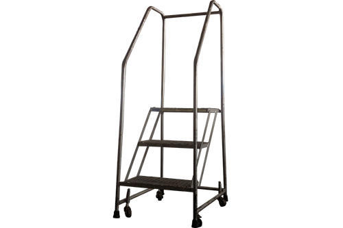 Ballymore 3-Step Rolling Ladder