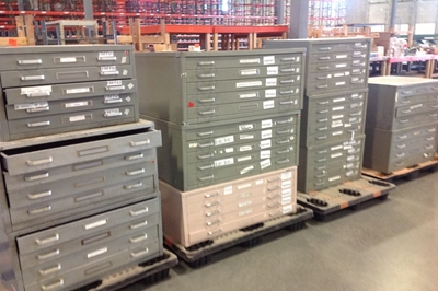 Used blueprint cabinets for sale at american surplus used flat file used blueprint cabinets malvernweather Images