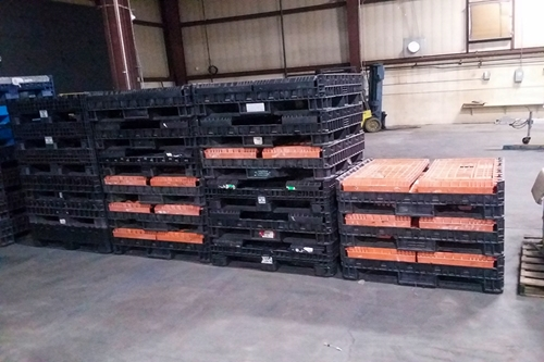 Used Collapsible Bulk Containers