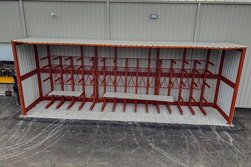 Used Cantilever Rack Systems