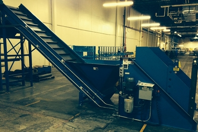 Used Cleated Belt Conveyor