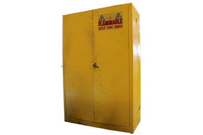 Used 45 Gallon Flammable Material Cabinets