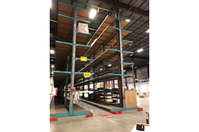 Used Double Sided Furniture Cantilever Rack